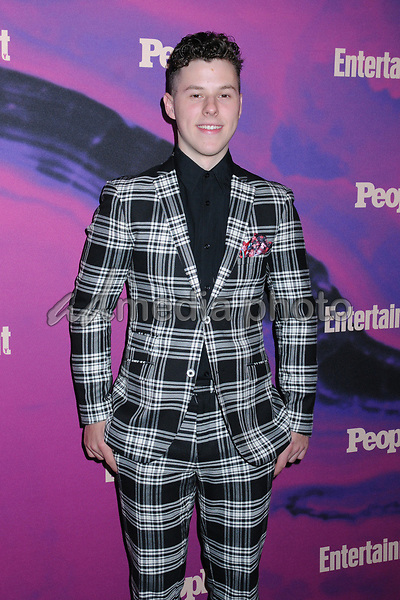 13 May 2019 - New York, New York - Nolan Gould at the Entertainment Weekly & People New York Upfronts Celebration at Union Park in Flat Iron. Photo Credit: LJ Fotos/AdMedia