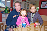 John and Jane O'Donoghue and one of their children Sarah, from Arbutas Grove, Killarney, who have had no water in their home for nine days due to the freezing conditions.