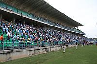 MONTERIA - COLOMBIA, 26-11-2017:Estadio de fútbol  Jaraguay de Montería.Jaguares de Córdoba y El Independiente Santa Fe en partido de los cuartos de final ida de la Liga Aguila II - 2017, jugado en el estadio Jaraguay de la ciudad de Montería.. / Jaraguay football  stadium in Monteria.Jaguares of Cordoba and Independiente Santa Fe during a match for the first leg between Jaguares of Cordoba  and Independiente Santa Fe , to the quarter of finals for the Liga Aguila II - 2017 at the Jaraguay  Stadium in Monteria city: Vizzorimage / Felipe Caicedo / Staff