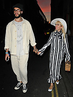 Leyman Lahcine and Paloma Faith at the HENI Gallery x Adidas &quot;Prouder&quot; project private view &amp; party, HENI Gallery, Lexington Street, London, England, UK, on Tuesday 03 July 2018.<br /> CAP/CAN<br /> &copy;CAN/Capital Pictures