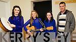 Representing St Marys GAA Club at Scór na nÓg in Foilmore on Sunday last were l-r; Catriona O'Shea, Rachel O'Connell, Kelsey McCarthy & Alan Clifford.