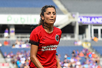 Orlando, FL - Sunday June 26, 2016: Nadia Nadim  during a regular season National Women's Soccer League (NWSL) match between the Orlando Pride and the Portland Thorns FC at Camping World Stadium.