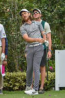 Tommy Fleetwood (ENG) watches his tee shot on 17 during round 2 of the World Golf Championships, Mexico, Club De Golf Chapultepec, Mexico City, Mexico. 2/22/2019.<br /> Picture: Golffile | Ken Murray<br /> <br /> <br /> All photo usage must carry mandatory copyright credit (© Golffile | Ken Murray)