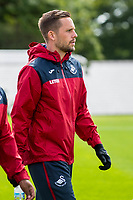 Wednesday 26 July 2017<br /> Pictured: Gylfi Sigurdsson of Swansea City with team mates during training <br /> Re: Swansea City FC Training session takes place at the Fairwood Training Ground, Swansea, Wales, UK