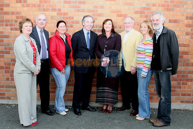 Margaret Reilly, Peter McEneaney, Madeline O'Halloran, John Lonergan (Governor of Mountjoy Prison),Caroline Clarke, Paul Hussey, Susan McKeown and Anthony Dunne at St. Marys Boys School...Photo NEWSFILE/Jenny Matthews.(Photo credit should read Jenny Matthews/NEWSFILE)....This Picture has been sent you under the condtions enclosed by:.Newsfile Ltd..The Studio,.Millmount Abbey,.Drogheda,.Co Meath..Ireland..Tel: +353(0)41-9871240.Fax: +353(0)41-9871260.GSM: +353(0)86-2500958.email: pictures@newsfile.ie.www.newsfile.ie.FTP: 193.120.102.198.