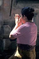 Woman in Prayer - Bali, Indonesia