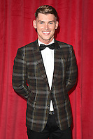 Kieron Richardson<br /> arrives for the British Soap Awards 2016 at Hackney Empire, London.<br /> <br /> <br /> &copy;Ash Knotek  D3124  28/05/2016
