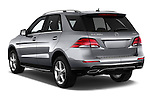 Car pictures of rear three quarter view of 2016 Mercedes Benz GLE-Class GLE300d 5 Door SUV Angular Rear
