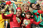 11 JUN 2010: Mexico fans dressed as Chapulin Colorado. The South Africa National Team tied the Mexico National Team 1-1 at Soccer City Stadium in Johannesburg, South Africa in the opening match of the 2010 FIFA World Cup.