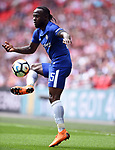 Victor Moses of Chelsea during the FA cup semi-final match at Wembley Stadium, London. Picture date 22nd April, 2018. Picture credit should read: Robin Parker/Sportimage