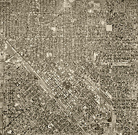 Fresno Historical Aerial Photography