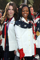 NEW YORK, NY - NOVEMBER 22: McKayla Maroney and Gabby Douglas at the 86th Annual Macy's Thanksgiving Day Parade on November 22, 2012 in New York City. Credit: RW/MediaPunch Inc. /NortePhoto