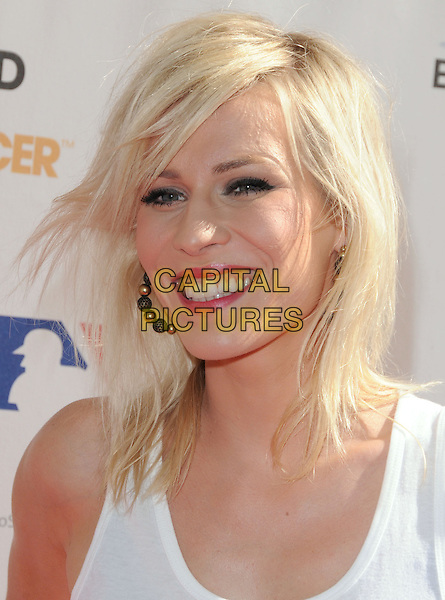 NATASHA BEDINGFIELD .at Stand Up to Cancer held at Sony Picture Studios in Culver City, California, USA, September 10th 2010.     .portrait headshot make-up smiling   white.CAP/RKE/DVS.©DVS/RockinExposures/Capital Pictures.