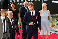 Prince Harry attends the World Premiere of DUNKIRK. London, UK. 13/07/2017 | usage worldwide ***FOR USA ONLY*** Credit: DPA/MediaPunch
