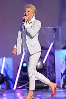 Marjo performs during the Telethon Enfant Soleil in Quebec City Sunday June 3, 2012.