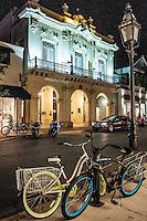 Duval Street shines at night in Key West, Florida, USA. Photo by Debi Pittman Wilkey