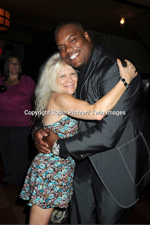 Ilene Kristen and Sean Ringgold attending the 5th Annual Sean Ringgold Fan Club Party on August 12, 2011 at HB Burger's Sunken Bar in New York City.