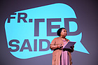 June 1, 2019; Professor Dianne Pinderhughes speaks at the 'Fr. Ted Said' speaker series event at Reunion 2019. (Photo by Matt Cashore/University of Notre Dame)