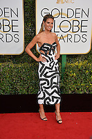 Heidi Klum at the 74th Golden Globe Awards  at The Beverly Hilton Hotel, Los Angeles USA 8th January  2017<br /> Picture: Paul Smith/Featureflash/SilverHub 0208 004 5359 sales@silverhubmedia.com