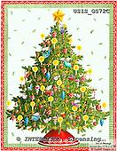 Ingrid, CHRISTMAS SYMBOLS, WEIHNACHTEN SYMBOLE, NAVIDAD SÍMBOLOS, paintings+++++,USISGS72C,#XX# vintage