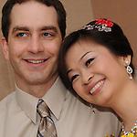 Taiwanese Wedding -- The couple.