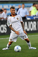 David Beckham..Kansas City Wizards tied 1-1 with LA Galaxy at Community America Ballpark, Kansas City, Kansas.