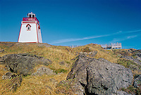 FIshing Point Lighthouse<br /> St. Anthony<br /> Newfoundland <br /> Canada
