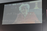 A video recording of former Speaker of the House Betty Boothroyd<br /> <br /> Jeff Thomas Photography -  www.jaypics.photoshelter.com - <br /> e-mail swansea1001@hotmail.co.uk -<br /> Mob: 07837 386244 -