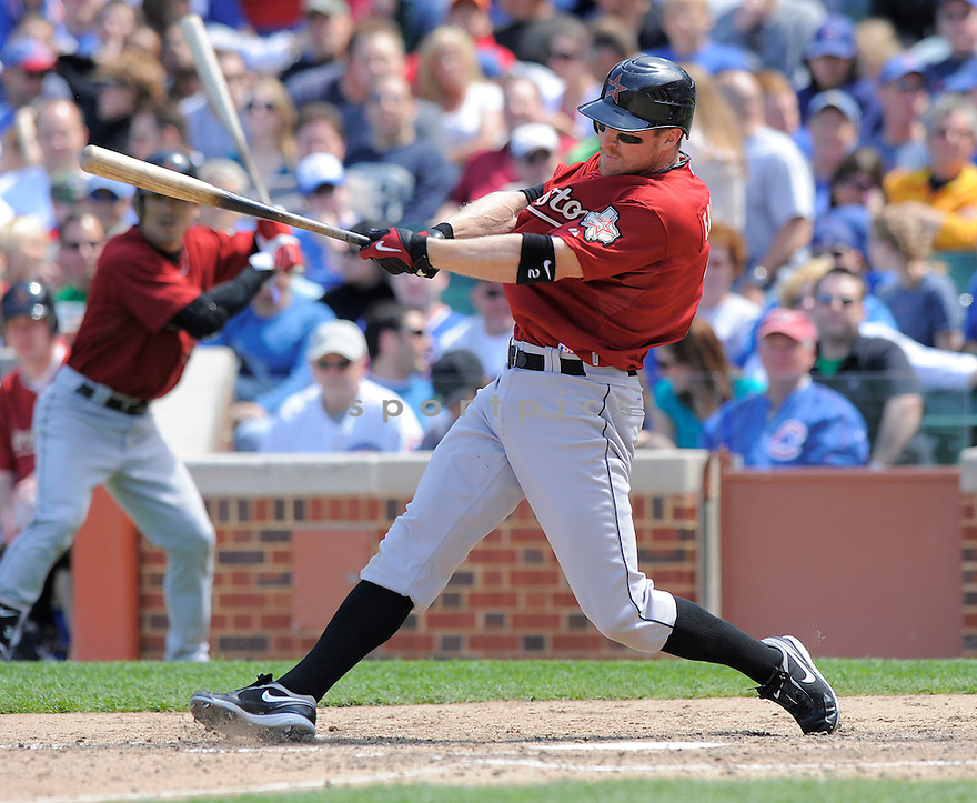 DARIN ERSTAD, of the Houston Astros, in action  during the Astros  game against the Chicago Cubs  on May 16, 2009 in Chicago, Illiniois  The Cubs beat the Padres 5-4.
