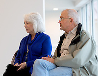 NWA Democrat-Gazette/JASON IVESTER --03/03/2015--<br /> Steve and Judy Marquess; photographed on Tuesday, March 3, 2015, inside the Peel Mansion in Bentonville for nwprofiles spotlight