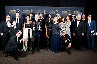PASADENA - May 3: The Young and the Restless in the press room at the 46th Daytime Emmy Awards Gala at the Pasadena Civic Center on May 3, 2019 in Pasadena, California
