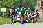 The chase group on the slopes of the final climb Horquette d'Ancizan during Stage 3 of the Route d'Occitanie 2019, running 173km from Arreau to Luchon-Hospice de France, France. 22nd June 2019<br /> Picture: Colin Flockton | Cyclefile<br /> All photos usage must carry mandatory copyright credit (© Cyclefile | Colin Flockton)