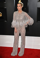 LOS ANGELES, CA - FEBRUARY 10: Ashlee Simpson at the 61st Annual Grammy Awards at the Staples Center in Los Angeles, California on February 10, 2019. Credit: Faye Sadou/MediaPunch