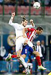Real Madrid's Garet Bale (l) and Atletico de Madrid's Koke Resurrecccion during UEFA Champions League 2015/2016 Final match.May 28,2016. (ALTERPHOTOS/Acero)