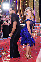 Davood Ghadami &amp; Ruth Langsford at the launch of the new series of &quot;Strictly Come Dancing&quot; at New Broadcasting House, London, UK. <br /> 28 August  2017<br /> Picture: Steve Vas/Featureflash/SilverHub 0208 004 5359 sales@silverhubmedia.com