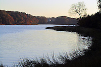 A fall view in East Greenwich Cove