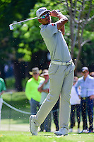 Rafa Cabrera-Bello (ESP) watches his tee shot on 7 during round 2 of the World Golf Championships, Mexico, Club De Golf Chapultepec, Mexico City, Mexico. 3/3/2017.<br />