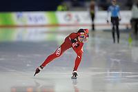 SCHAATSEN: Calgary: Essent ISU World Sprint Speedskating Championships, 28-01-2012, 1000m Dames, Jing Yu (CHN), ©foto Martin de Jong