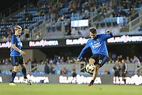 "San Jose, CA - Saturday September 30, 2017: Valeri Qazaishvili ""Vako"" during a Major League Soccer (MLS) match between the San Jose Earthquakes and the Portland Timbers at Avaya Stadium."