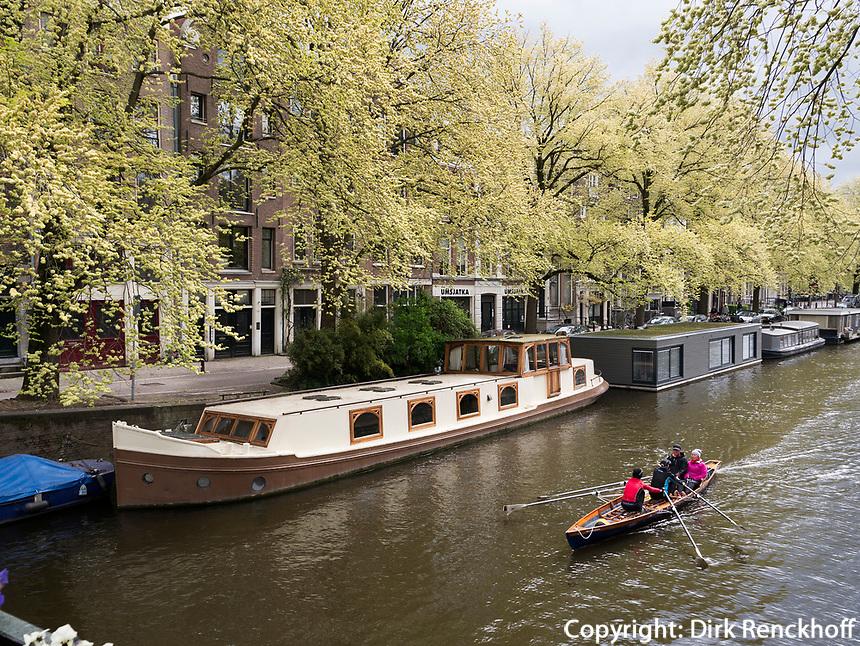 Prinsengracht in Amsterdam, Provinz Nordholland, Niederlande<br /> Prinsengracht in Amsterdam, Province North Holland, Netherlands