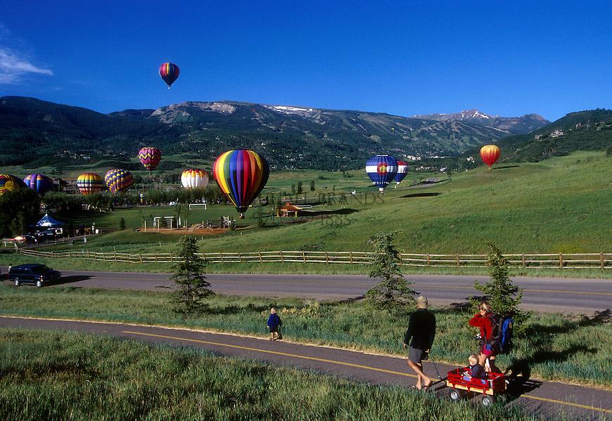Balloon Festival, Snowmass, Colorado. © Michael Brands. 970-379-1885.