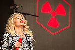 © Joel Goodman - 07973 332324 . 09/06/2013 . Heaton Park , Manchester , UK . Rita Ora performs on the main stage . Day 2 of the Parklife music festival in Manchester on Sunday 9th June 2013 . Photo credit : Joel Goodman