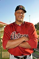 Feb 25, 2010; Kissimmee, FL, USA; The Houston Astros outfielder Yordany Ramirez (30) during photoday at Osceola County Stadium. Mandatory Credit: Tomasso De Rosa / Four Seam Images