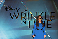 Ava Duvernay attends A WRINKLE IN TIME European Premiere - London, UK  March 13, 2018. Credit: Ik Aldama/DPA/MediaPunch ***FOR USA ONLY***