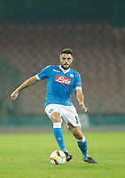 Napoli's David Lopez  during the Europa  League Group D soccer match between SSC Napoli and Midtjylland at the San Paolo  Stadium in NaplesNovember 05, 2015