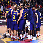 Turkish Airlines Euroleague 2018/2019. <br /> Regular Season-Round 16.<br /> FC Barcelona Lassa vs Darussafaka Tekfen Istanbul: 97-65.