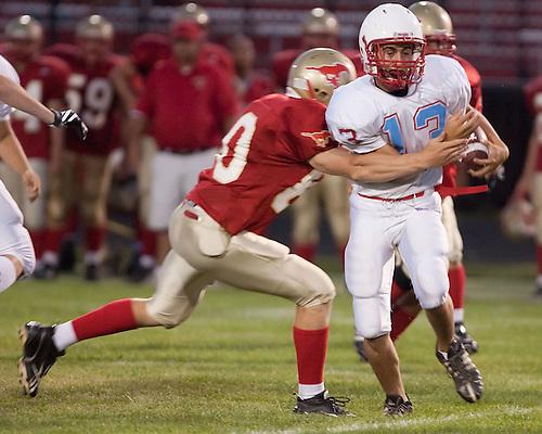 Saint Joseph's High School Football 2009.St. Joe vs. Elkhart Memorial Scrimmage