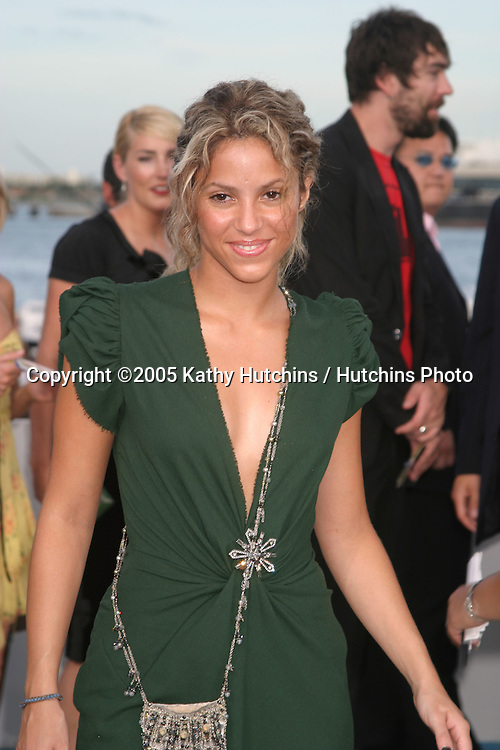 Shakira.MTV Video Music Awards.American Airlines Arena.Miami, FL.August  28, 2005.©2005 Kathy Hutchins / Hutchins Photo....