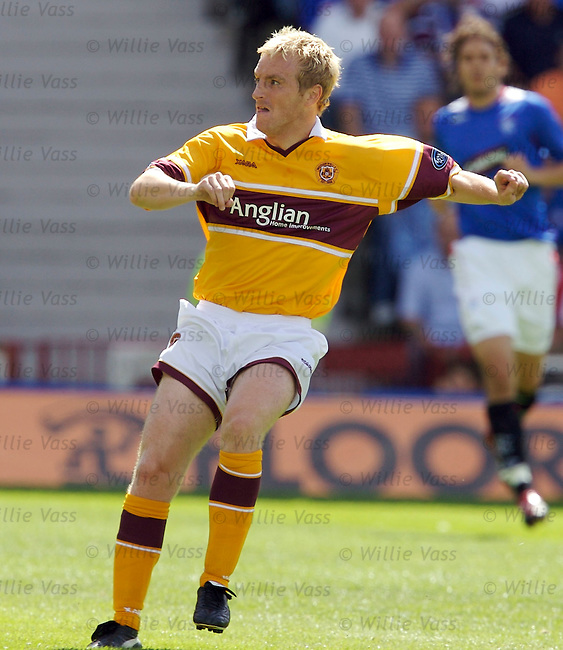 Brian Kerr, Motherwell.stock season 2006-2007.pic willie vass