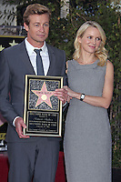 Simon Baker honored with a Star on the Hollywood Walk Of Fame - Los Angeles